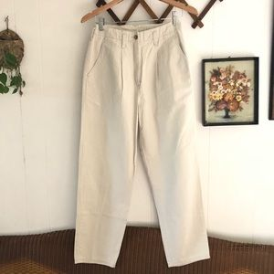 90's High Rise Pleated Trousers